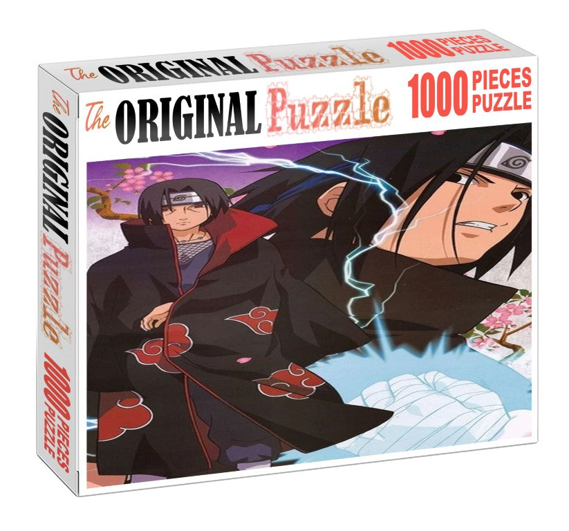 Sasuke Potrait is Wooden 1000 Piece Jigsaw Puzzle Toy For Adults and Kids