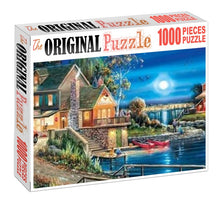 Mini House Dock is Wooden 1000 Piece Jigsaw Puzzle Toy For Adults and Kids