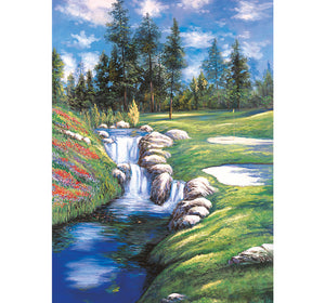 Flowing River is Wooden 1000 Piece Jigsaw Puzzle Toy For Adults and Kids