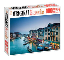 Intercity River is Wooden 1000 Piece Jigsaw Puzzle Toy For Adults and Kids