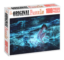 Lady of Ocean Wooden 1000 Piece Jigsaw Puzzle Toy For Adults and Kids