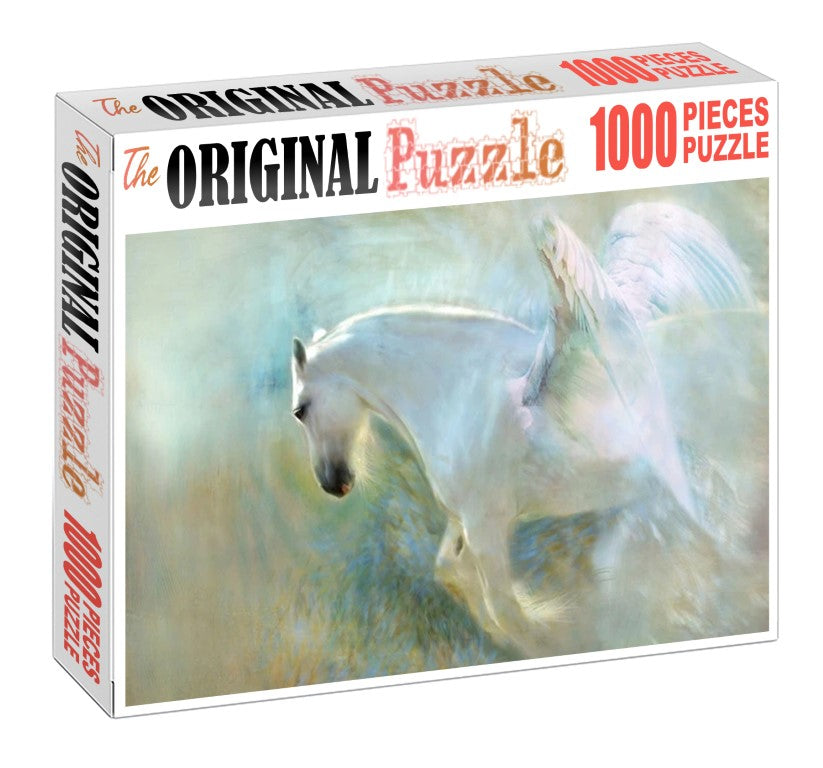 Flying Horse is Wooden 1000 Piece Jigsaw Puzzle Toy For Adults and Kids