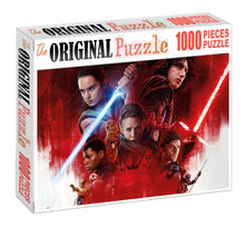 Last Jedi Wooden 1000 Piece Jigsaw Puzzle Toy For Adults and Kids