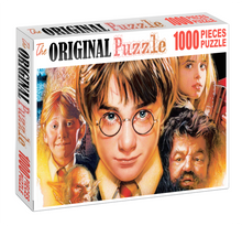 A Harry Sorcerer Stone Wooden 1000 Piece Jigsaw Puzzle Toy For Adults and Kids