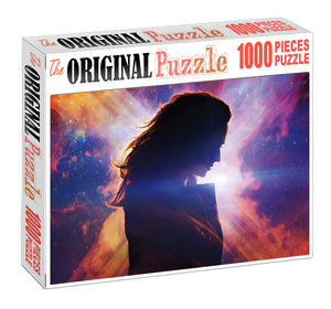 Captain Marvel Wooden 1000 Piece Jigsaw Puzzle Toy For Adults and Kids