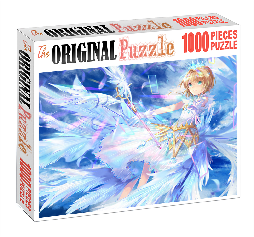 Crystal Sakura is Wooden 1000 Piece Jigsaw Puzzle Toy For Adults and Kids