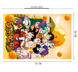 Dragon Ball Kidzy is Wooden 1000 Piece Jigsaw Puzzle Toy For Adults and Kids