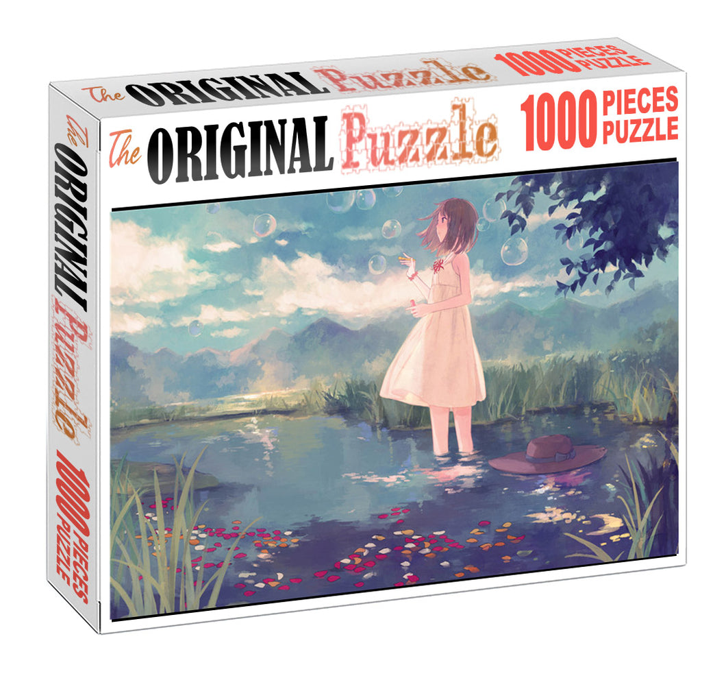 Observing Nature Wooden 1000 Piece Jigsaw Puzzle Toy For Adults and Kids