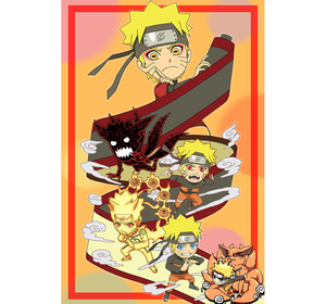 Naruto Chubby Art is Wooden 1000 Piece Jigsaw Puzzle Toy For Adults and Kids