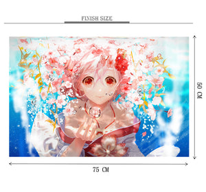Krystal of Eyes Wooden 1000 Piece Jigsaw Puzzle Toy For Adults and Kids