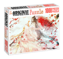 A Maiden Wooden 1000 Piece Jigsaw Puzzle Toy For Adults and Kids