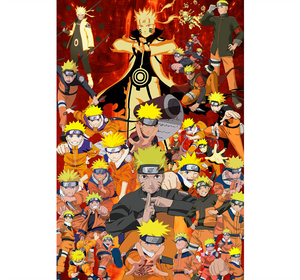 A Naruto Copies Wooden 1000 Piece Jigsaw Puzzle Toy For Adults and Kids