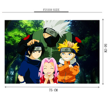 Naruto's Childhood is Wooden 1000 Piece Jigsaw Puzzle Toy For Adults and Kids