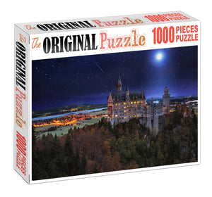 Midnight Castle is Wooden 1000 Piece Jigsaw Puzzle Toy For Adults and Kids