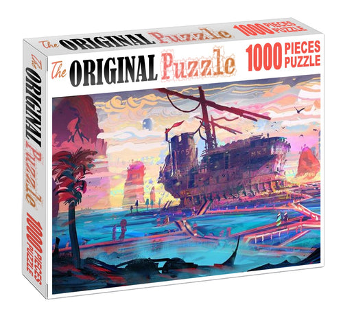 A Ship To Sail 1000 Piece Jigsaw Puzzle Toy For Adults and Kids