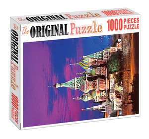 Disney Land Building is Wooden 1000 Piece Jigsaw Puzzle Toy For Adults and Kids