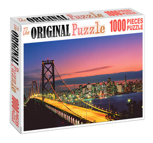 Longest Bridge Wooden 1000 Piece Jigsaw Puzzle Toy For Adults and Kids