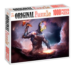 Forging Blade is Wooden 1000 Piece Jigsaw Puzzle Toy For Adults and Kids