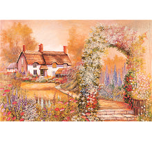 Painting of a House is Wooden 1000 Piece Jigsaw Puzzle Toy For Adults and Kids
