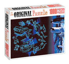 Penguin Zodiac Signs is Wooden 1000 Piece Jigsaw Puzzle Toy For Adults and Kids