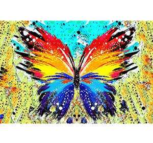 Butterfly Spray Painting Wooden 1000 Piece Jigsaw Puzzle Toy For Adults and Kids