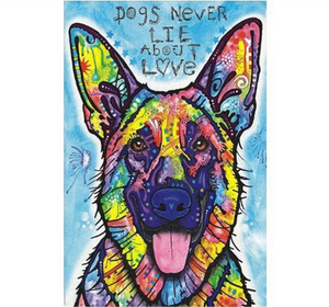 Dog never Lie Wooden 1000 Piece Jigsaw Puzzle Toy For Adults and Kids