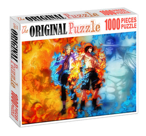 Ace and Pheonix Wooden 1000 Piece Jigsaw Puzzle Toy For Adults and Kids