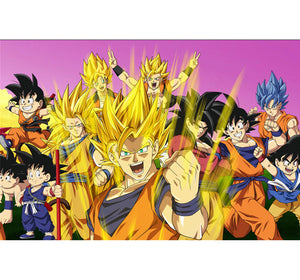 Goku and Gohan Wooden 1000 Piece Jigsaw Puzzle Toy For Adults and Kids