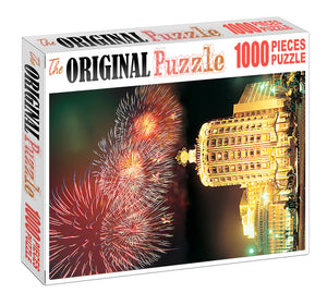Hotel of Bubai is Wooden 1000 Piece Jigsaw Puzzle Toy For Adults and Kids