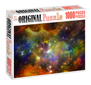 Constilation Universe Wooden 1000 Piece Jigsaw Puzzle Toy For Adults and Kids