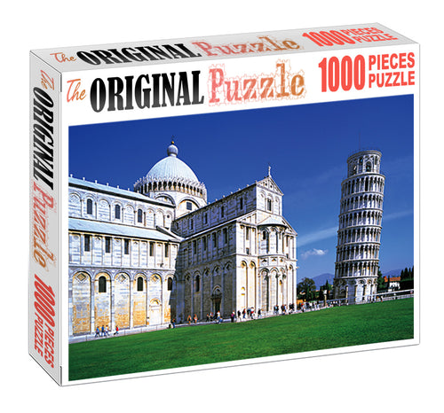 Tower of PISA is Wooden 1000 Piece Jigsaw Puzzle Toy For Adults and Kids