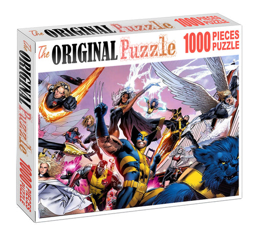 X-Men Origin is Wooden 1000 Piece Jigsaw Puzzle Toy For Adults and Kids
