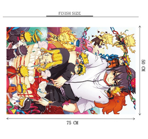 Shinobi Sensei Wooden 1000 Piece Jigsaw Puzzle Toy For Adults and Kids