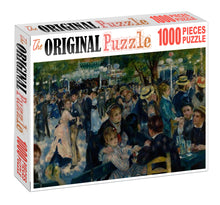Social Gathering Wooden 1000 Piece Jigsaw Puzzle Toy For Adults and Kids