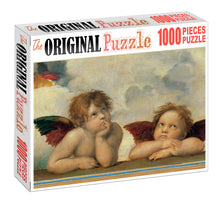 Cupid Thinking is Wooden 1000 Piece Jigsaw Puzzle Toy For Adults and Kids