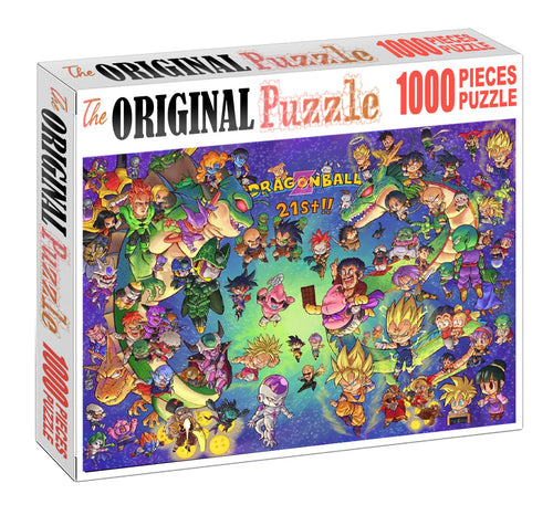 21st Dragon Ball is Wooden 1000 Piece Jigsaw Puzzle Toy For Adults and Kids