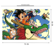 Gohan Dragon Ride Wooden 1000 Piece Jigsaw Puzzle Toy For Adults and Kids