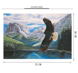 Flying Eagle is Wooden 1000 Piece Jigsaw Puzzle Toy For Adults and Kids