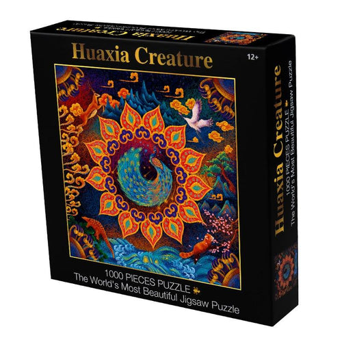 Huaxia Creature Wooden 1000 Piece Jigsaw Puzzle Toy For Adults and Kids