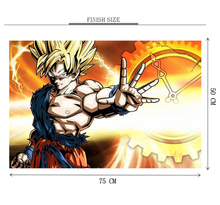 Goku Super Blast Wooden 1000 Piece Jigsaw Puzzle Toy For Adults and Kids