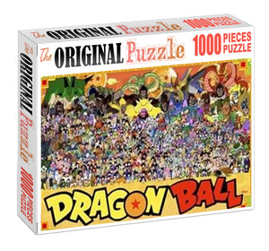 Dragon Ball Series Wooden 1000 Piece Jigsaw Puzzle Toy For Adults and Kids