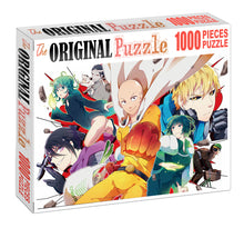 One-Punch Team is Wooden 1000 Piece Jigsaw Puzzle Toy For Adults and Kids