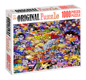 Dragon Ball Characters Wooden 1000 Piece Jigsaw Puzzle Toy For Adults and Kids