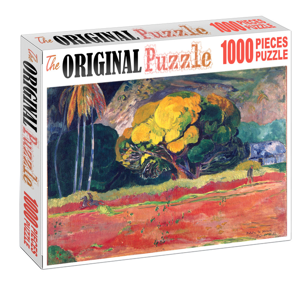 Elder Tree is Wooden 1000 Piece Jigsaw Puzzle Toy For Adults and Kids