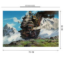 Mortal Engines is Wooden 1000 Piece Jigsaw Puzzle Toy For Adults and Kids