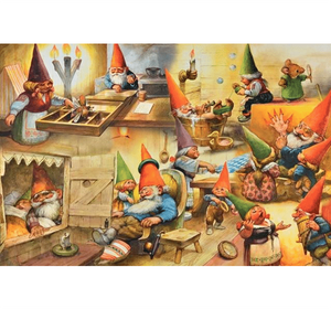 Goblins Partying Wooden 1000 Piece Jigsaw Puzzle Toy For Adults and Kids