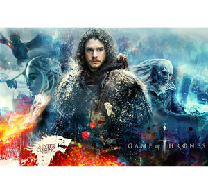 John Snow GOT is Wooden 1000 Piece Jigsaw Puzzle Toy For Adults and Kids