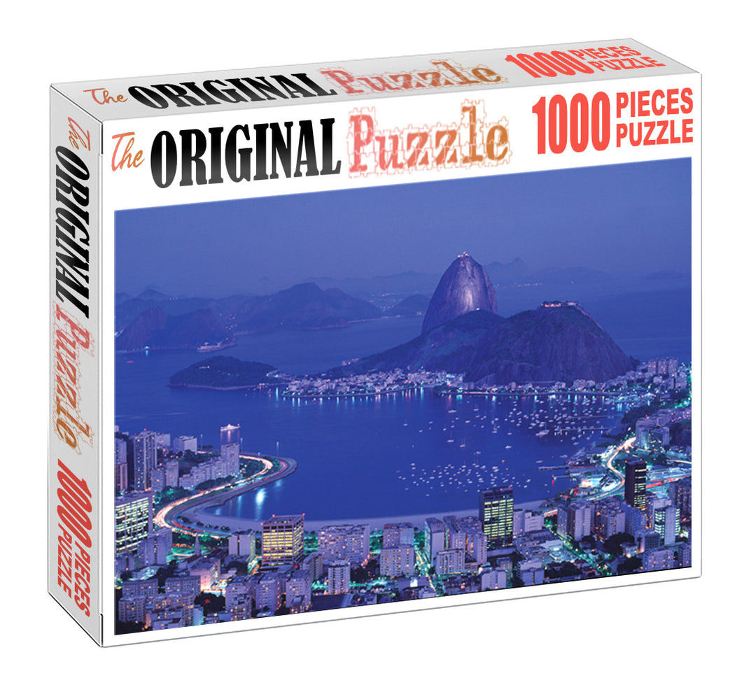 Stone Monument is Wooden 1000 Piece Jigsaw Puzzle Toy For Adults and Kids