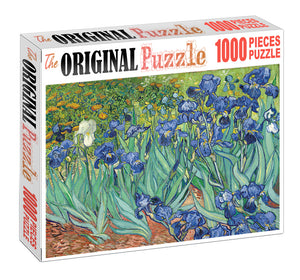 Royal Flower is Wooden 1000 Piece Jigsaw Puzzle Toy For Adults and Kids