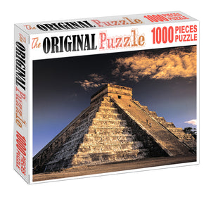Sun Temple of Egypt is Wooden 1000 Piece Jigsaw Puzzle Toy For Adults and Kids